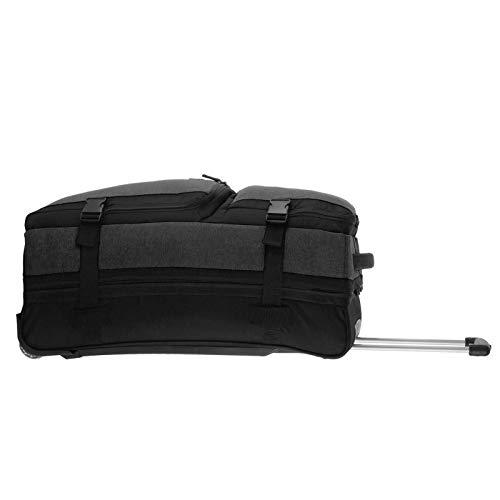 Rada Reisetasche mit Rollen, weicher Reisekoffer mit Trolleyfunktion, Damen und Herren, XL 88Liter Volumen, Stabiler Teleskopgriff, wasserabweisend und robust, RT/31/L (Anthra 2 Tone)