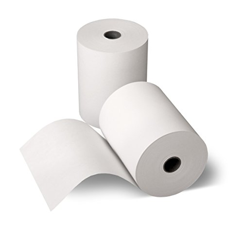 50 Thermorollen 80mm x 80m x 12mm [Ø 80mm] - Thermopapier Bonrolle - 80m lang - 50 Stück