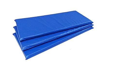 Colchonete de Ginastica 90x40x3 D-23 Academia Escolas Azul