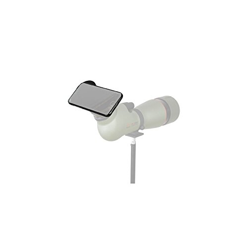 Kowa TSN-IP7 - Adaptador digiscoping para iPhone 7, Color Negro