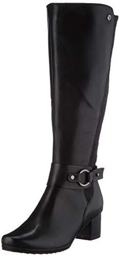 CAPRICE Damen 9-9-25528-25 Kniehohe Stiefel XL Schaft, Black Comb, 39 EU