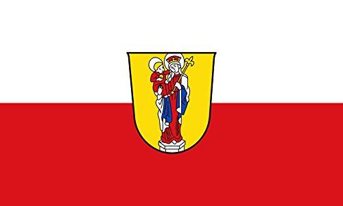 Unbekannt magFlags Tisch-Fahne/Tisch-Flagge: Altötting, St 15x25cm inkl. Tisch-Ständer