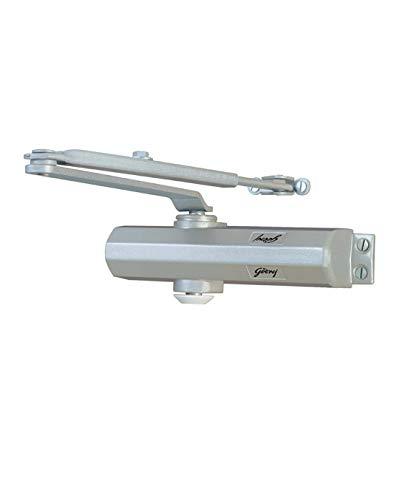 Godrej C071 Aluminum Alloy Door Closer (Metallic Silver)