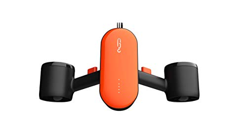 Geneinno S2, Underwater Scooter Dual Propellers with Compatible with GoPro, Orange