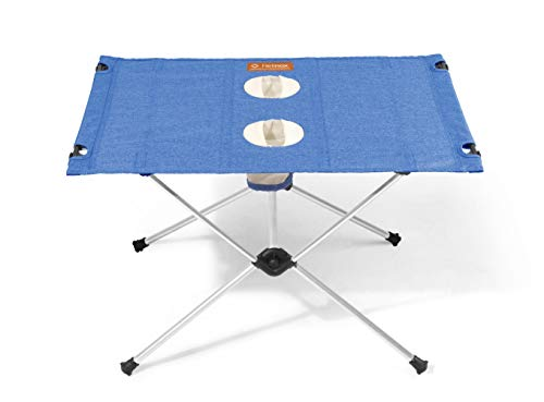 Helinox Table One,Campingtisch,Falt-Tisch,Getränkehalter,Melange-Optik,leicht,stabil,faltbar,inkl Tragetasche,Clover,one Size