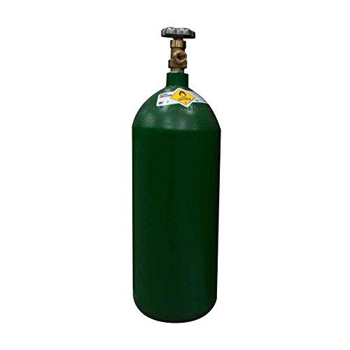40 cu/ft Oxygen Welding Gas Cylinder Tank CGA 540 - FULL