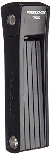 Trelock Faltschloss FS 200-75 Two Go INCL Halter-Bracket, Grün, 75x10x10cm