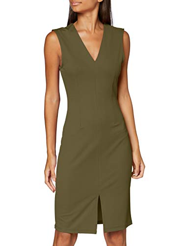 VERO MODA Damen VMDOLLY SL Short Dress JRS DA Formales Abendkleid, Ivy Green, M