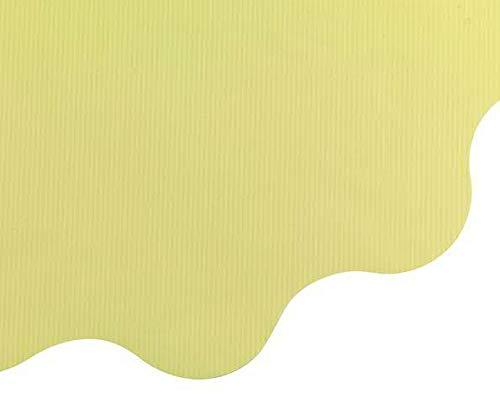 Klocke Dekorationsbedarf Rondella Manschetten – 50 Stück – Leicht Gestreift – Große Auswahl - Blumenpapier – Blumenfolie/Blumenmanschette/Straußmanschetten/Geschenkpapier Blumen (Ecru, Ø 50cm)