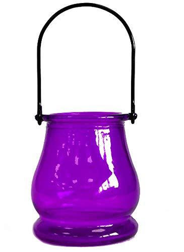 Lanterne D : 7,5 cm, H : 6,5 cm, 12 pièces.