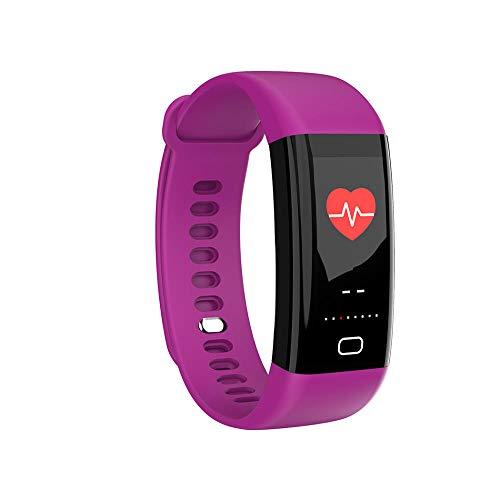 Mlite Pulsera inteligente F77, oxígeno inteligente de la sangre, monitoreo de la presión arterial, reloj multifuncional impermeable de los deportes