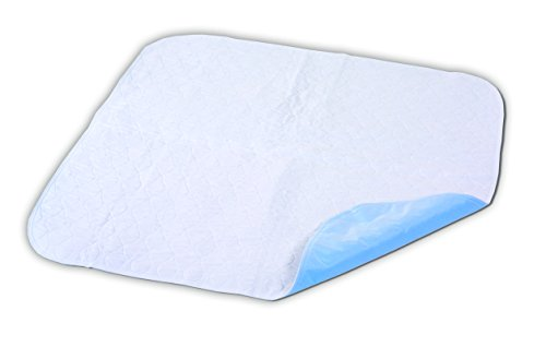 Essential Medical Supply Quik-Sorb Birdseye Cotton Reusable Underpad, 36' X 54', 3 Count