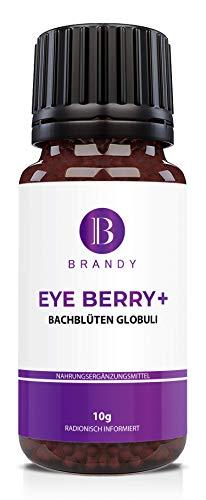 Brandy - Eye Berry + -Sehnerv, Augen, Sehen, trockene Augen - 100% natürlich - radionisch informiert