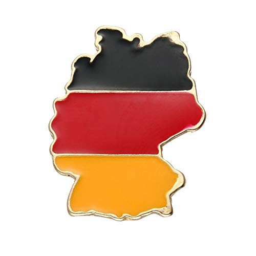 Null Karat Anstecker Anstecknaden Hutnadel Brosche Pin Deutschland Germany