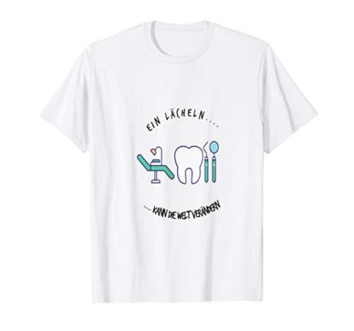 Lächeln Lustiges Zahnarzt und Zahnarztassistent T-Shirt