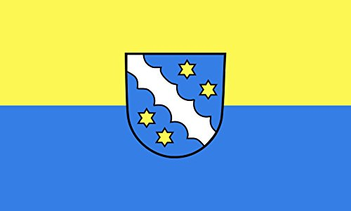 Unbekannt magFlags Tisch-Fahne/Tisch-Flagge: Heroldstatt 15x25cm inkl. Tisch-Ständer