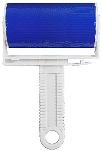 My-goodbuy24 1 x Fusselroller abwaschbar Dauerfusselroller Kleiderroller Endlos fusselrolle - zum Entfernen von Staub Haare Tierhaare Katzenhaare Hundehaare - Blau