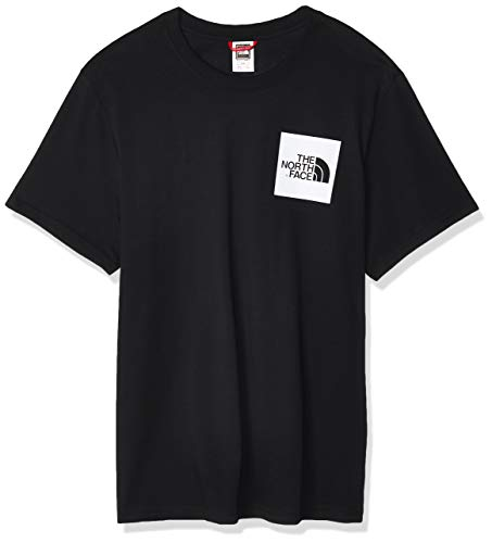 The North Face M S/S Fine - Camiseta de Manga Corta Hombre