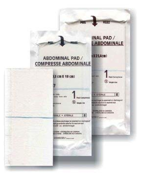 Medicom A7087 Abdominal Pad Sterile Limited time sale Pac 8