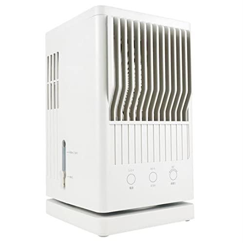 WGHH 3 in 1 Ultra-Quiet Personal Spazio Air Cooler, Mini condizionatore d'Aria Ventilatore, Incorporato GUIDATO Spia, 3 Regolabili velocità del Vento, 2 Misting Modes, for la casa Ufficio Esterno
