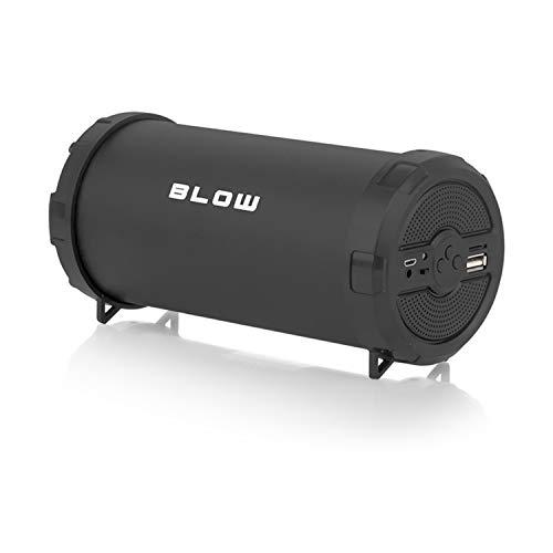 Blow BT900 Bazooka Drahtloser Bluetooth Lautsprecher 25W UKW Radio USB AUX BT