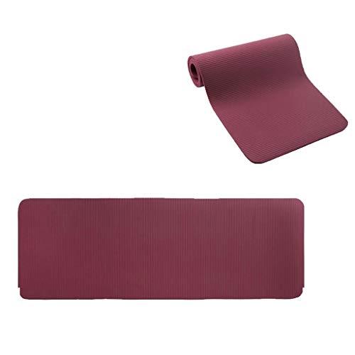 Praktijkmat Yoga Mat Thuis Vloer Mat Dans Dikke Antislip Baby Kruipmat Dikte 15mm180*63CM Grijs Wijn Rood tapijt