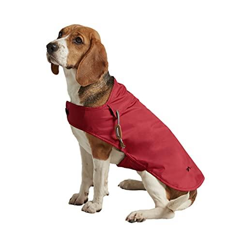 Rosewood Joules - Cappotto impermeabile per cani, rosso, taglia XL