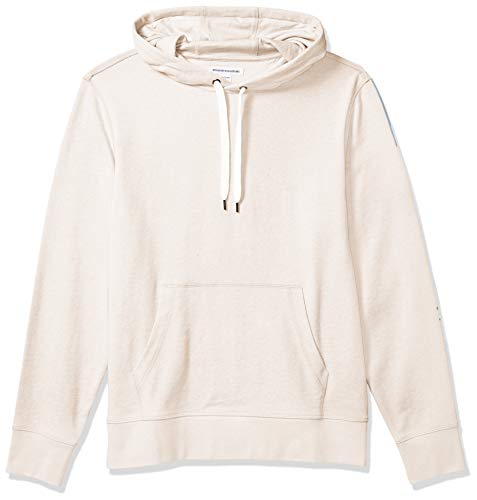 Amazon Essentials Lightweight French Terry Hooded Sweatshirt Fashion-Hoodies, Beige, US S (EU S)