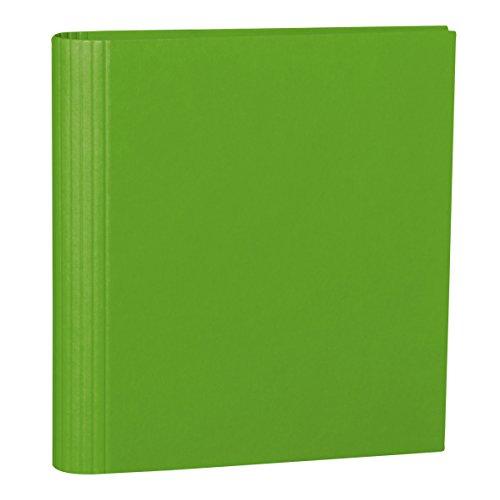 Semikolon (353307) Foto-Ordner 4 Ring lime (hell-grün) - Foto-Mappe zum Selbstgestalten mit Efalinbezug - Basis für Foto-Album oder Fotobuch