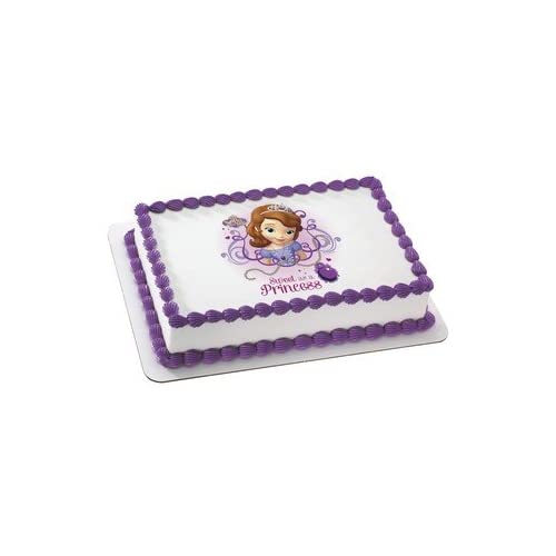 Sofia The First Cake Decorations Amazon