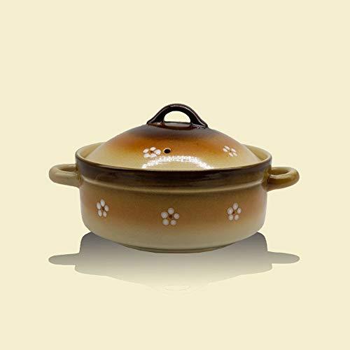 SCRFF Moderna cazuela, Olla de Barro de cerámica, Hogar Resistente de Alta Temperatura Caliente crisol de la Sopa Pot