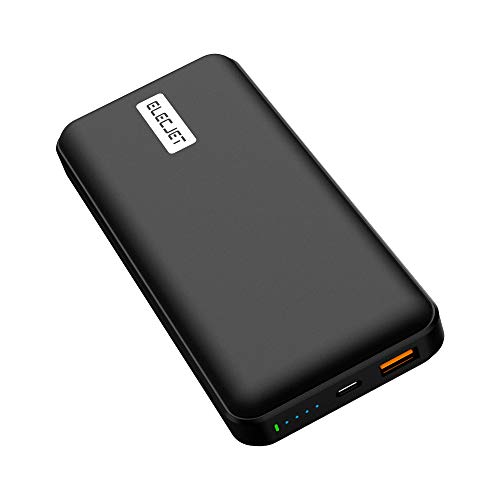 ELECJET PowerPie 20000mAh Power Bank, 45W USB-C PD 3.0, External Battery Pack for Galaxy Note10+, S20 Ultra, Dell XPS, MacBook Pro/Air, iPad Pro, iPhone, Nintendo Switch and More