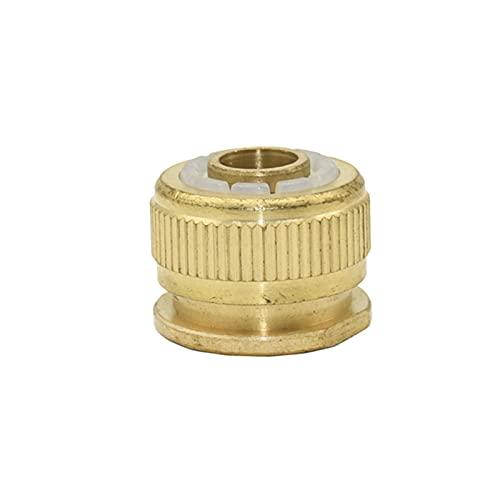 Accesorios de tubería 3/8 1/2 3/4 pulgada Conector rápido de la manguera de latón 8/11 16mm 20mm 25mm Conector de cobre de cobre Conector de jardín Manguera de jardín Ampliación de pistola de agua 1pc