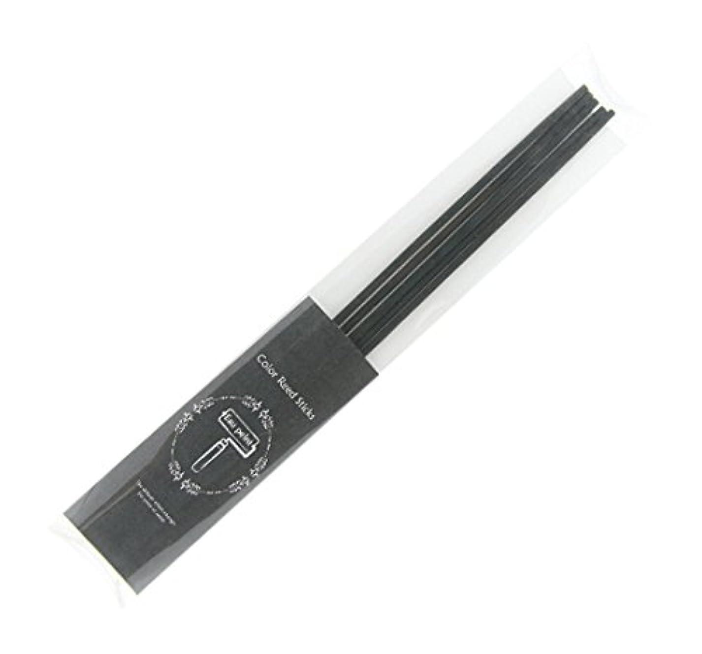 エスカレーター区著名なEau peint mais+ カラースティック リードディフューザー用スティック 5本入 ブラック Black オーペイント マイス