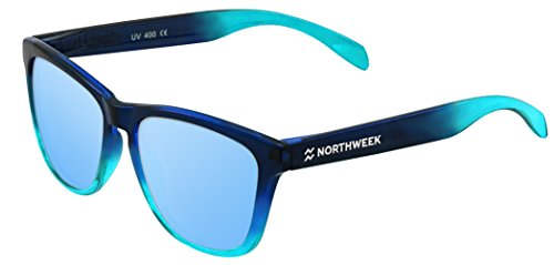 NORTHWEEK GAFAS DE SOL GRADIANT BRIGHT POLARIZED - UNISEX (Azul Gradiant)