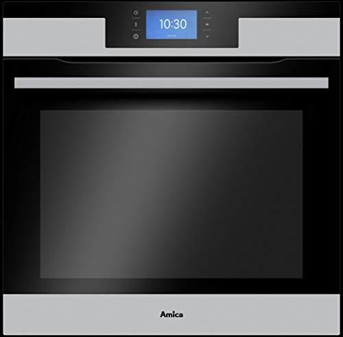 AMICA EBPX 946 600 E Pyrolyse-Einbaubackofen/Edelstahl/Autark/A+
