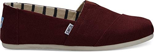 TOMS Canvas Men's Classics Venice Collection Espadrilles, Black Cherry