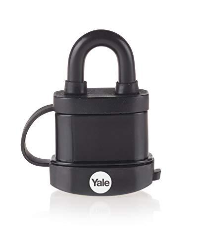 Yale Y222B Vorhängeschloss 35 mm Padlock, Black