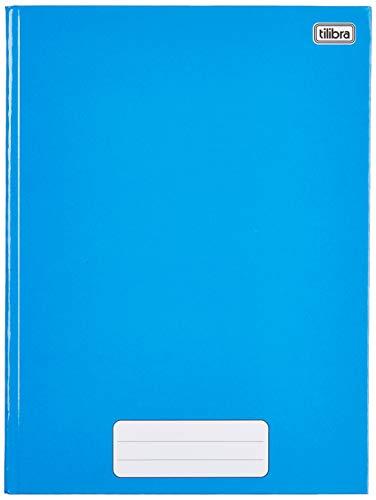 Caderno Brochura Capa Dura Universitário, Tilibra, Pepper, 20x27.5cm, 80 Folhas, 1 Matéria, Azul