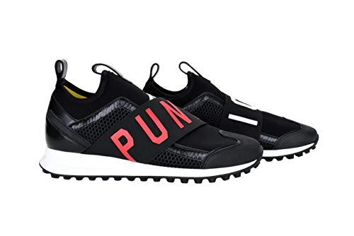 DSQUARED2 Icon Sneakers M1271 Herren-Schuhe, Schwarz - Schwarz - Größe: 43 EU
