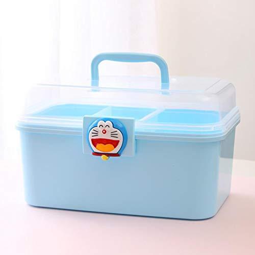 Multi-Layer-Medikament Aufbewahrungsbox Erste-Hilfe-Kit Tragbares Zuhause Multi-Funktions-Medizin-Box Eine Vielzahl Von Größen Erhältlich Hyococ (Color : D, Size : 26.5×17.5×16.5cm)