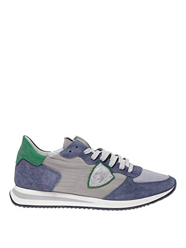 Philippe Model Trpx Mondial Delave Sneakers, 44 Blue