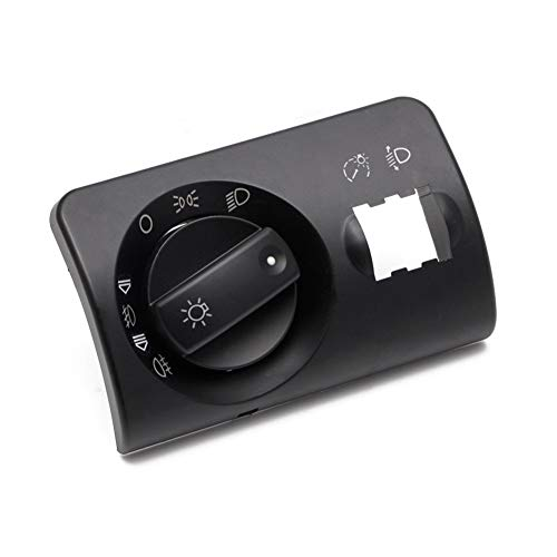 Ymhan Interruptor de los Faros antiniebla Kit de la Cubierta for Audi A6 4B 4B1941531F C5 Avant Sin Codificación