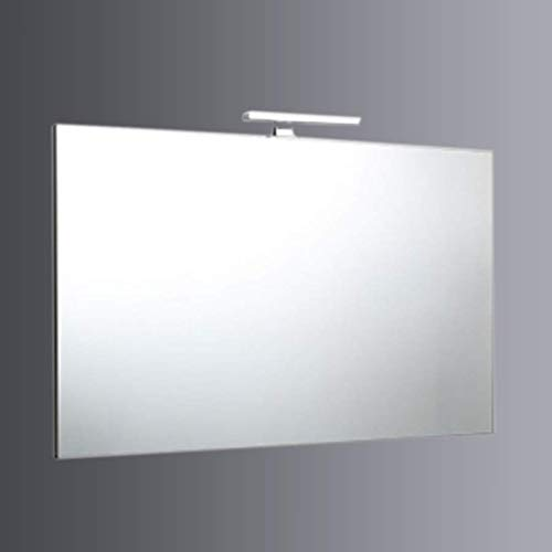 SPECCHIO 120x70 A FILO CON LAMPADA A LED