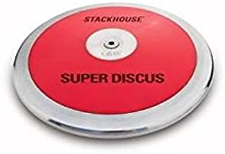 Stackhouse 9 in. Super Low Spin Discus in Red (1.5 K)