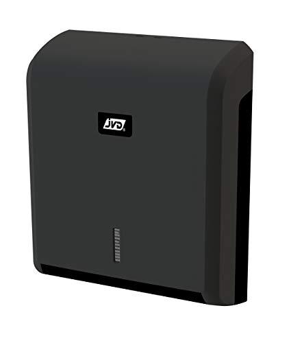 Dispensador toallas negro mate plegado Z Collection JVD