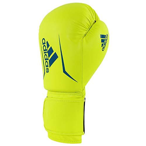 adidas Erwachsene Speed 50-gelb/blau 4 oz adiSBG50 Boxhandschuhe