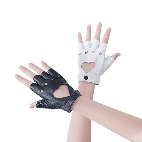 Monokuma Handschuhe für Cosplay, Halloween, Weiß und Schwarz