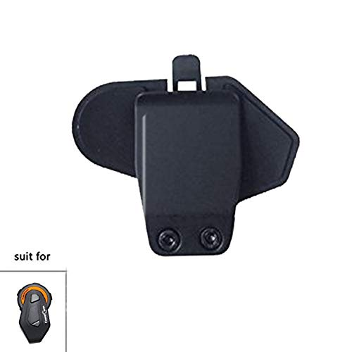 Accesorio de Clip de Casco de intercomunicador FreedConn para TMAX Interfono de Bluetooth intercomunicador Soporte de Auricular Remoto Soporte de Clip