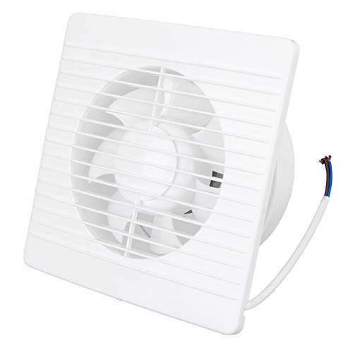 Zerodis Wall Mounted Exhaust Fan, 7‑Blades Ventilation Fans Automatic Shutter Vent Fan with Check Valve For Home Attic Shed or Garage Ventilation(4inch)